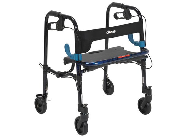 Drive Medical Clever-Lite Walker Junior With 5″ Casters